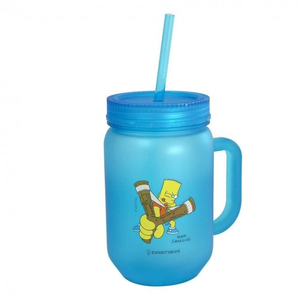 CANECA POTE FOSCA 450ML BART SIMPSONS