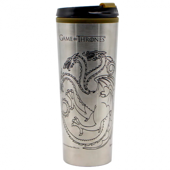 COPO VIAGEM METAL 450ML GAME OF THRONES