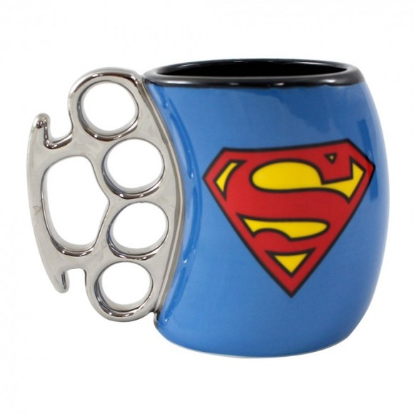 CANECA SOCO INGLES 350ML SUPER MAN
