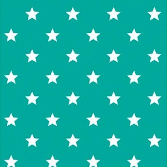 Papel de Parede - Estrelas Verdes