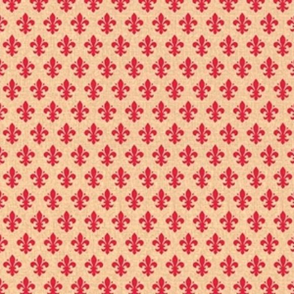 Papel de Parede - Lis Vermelho