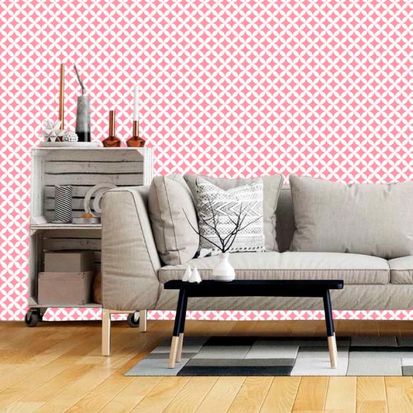 Papel de Parede - Trendy Pink