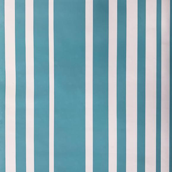 Papel de Parede Listra Azul e Branca