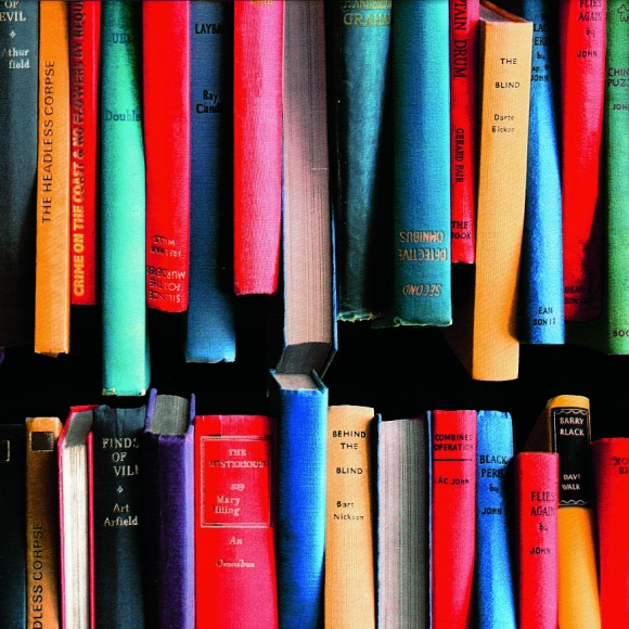 PAPEL DE PAREDE 15M - BOOK STACK